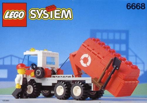 lego dustbin lorry