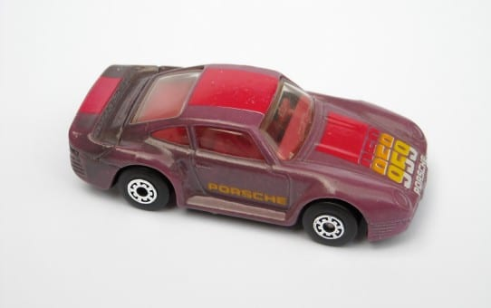 change colour matchbox 80s toy car
