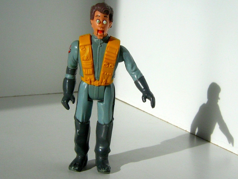 Peter Venkman Fright toy