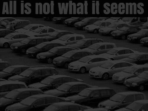 car park illusion answer