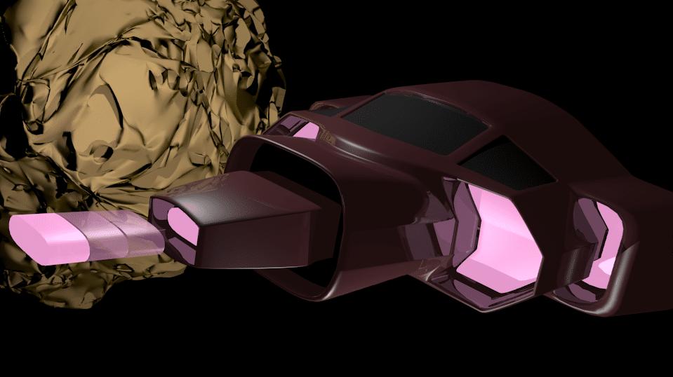 Atari Asteroids 3D